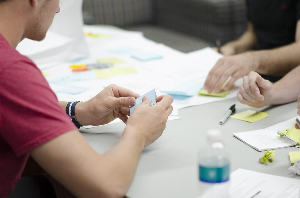 team collaboration in web design