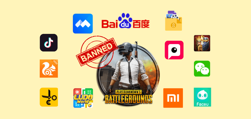 118 chinese apps banned in India name list