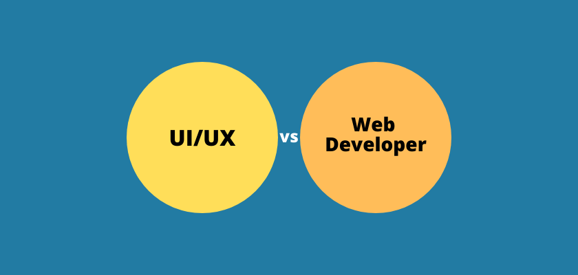 UI/UX vs Web Developer