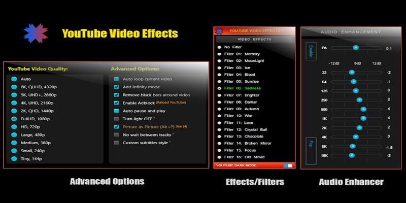 Add Effects in YouTube Videos