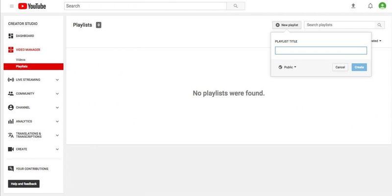Make Playlist on YouTube Tips