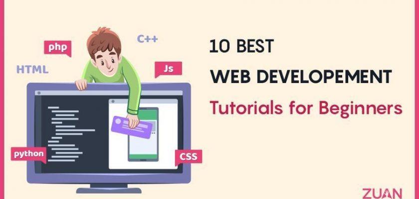 Web Development Tutorials for Beginners