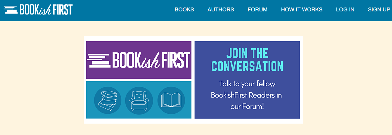 Bookish First