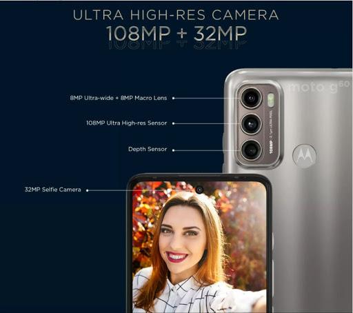 Moto G60 - triple-camera composition