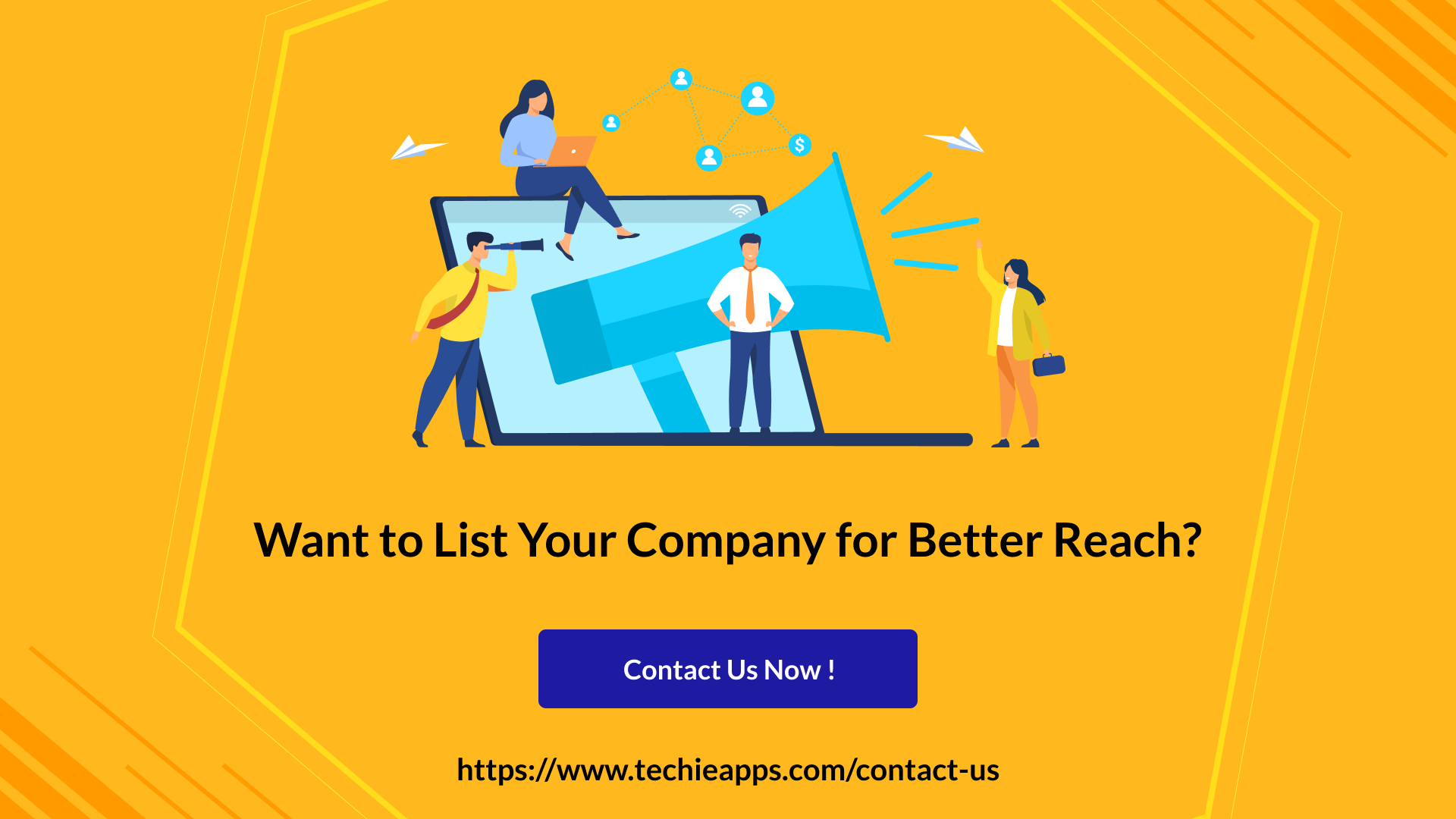 List Your Company on Techieapps