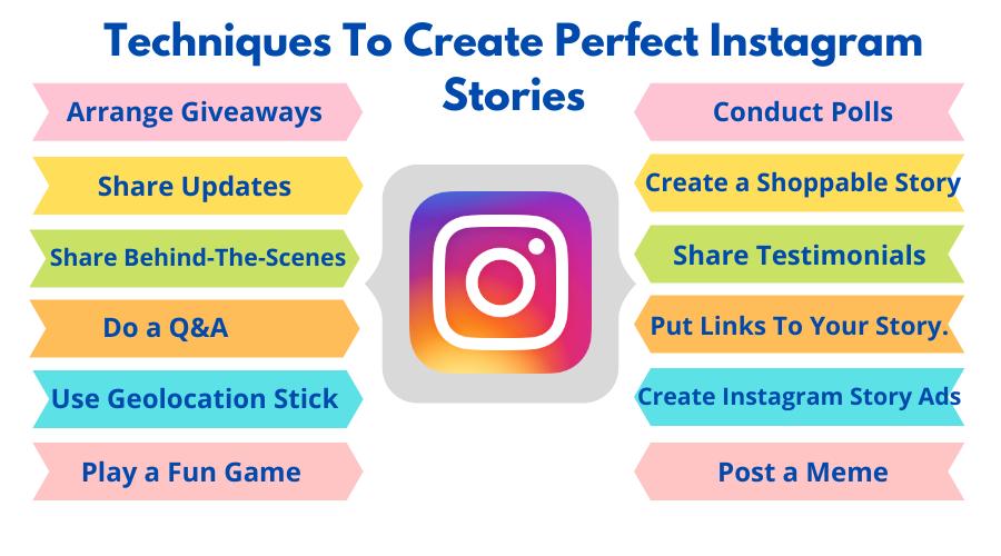 Create Perfect Instagram Stories Techniques