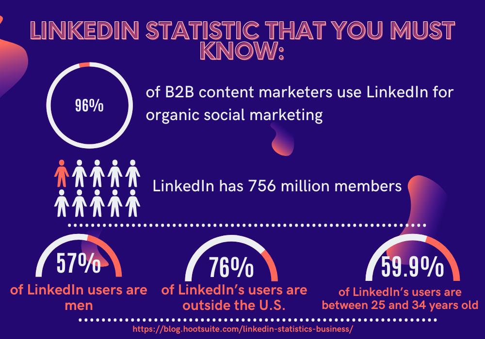 LinkedIn Usage Stat