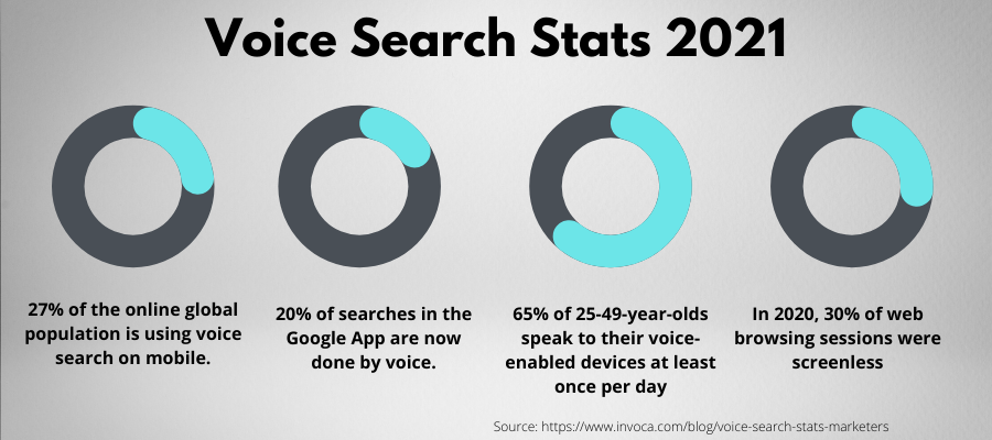 Voice Search Stats