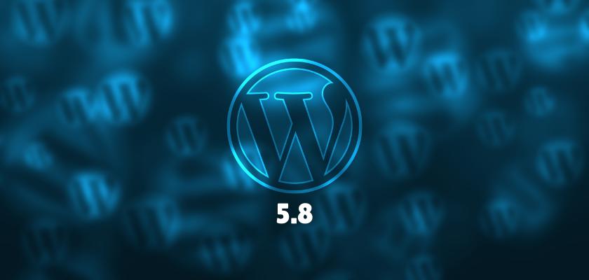 WordPress 5.8 Released