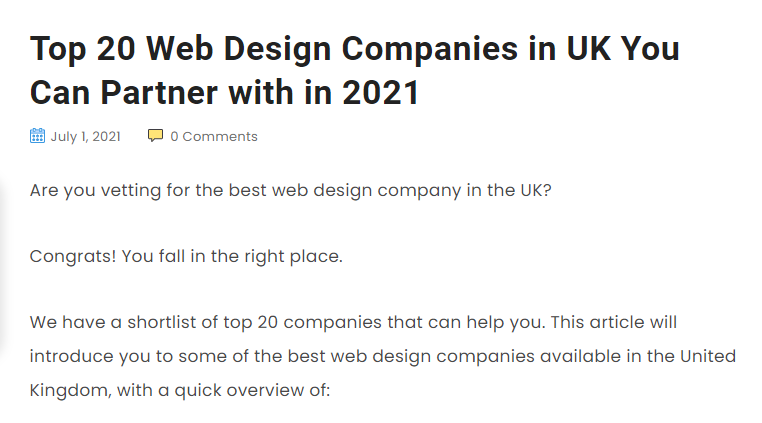 top web design companies